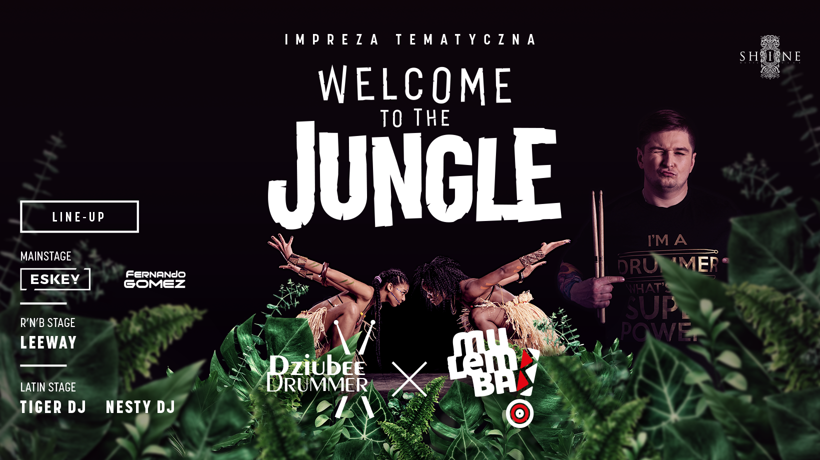 Welcome To The Jungle // 21.09 // Lista FB Free do 23:00