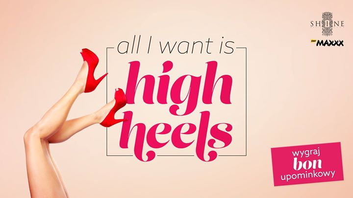 All I Want Is High Heels // 15.09 // Szpilki - Wstęp + Drink!