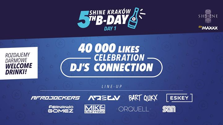 ★ SHINE 5th B-Day - DAY1: 40000 Likes Celebration // 20.04 //